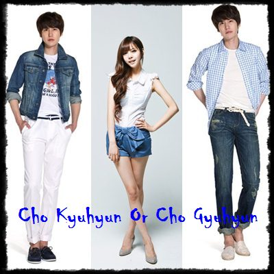 Cho Kyuhyun and Do Hwe ji