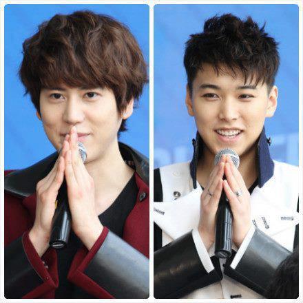 Cho Kyuhyun and Lee Sungmin
