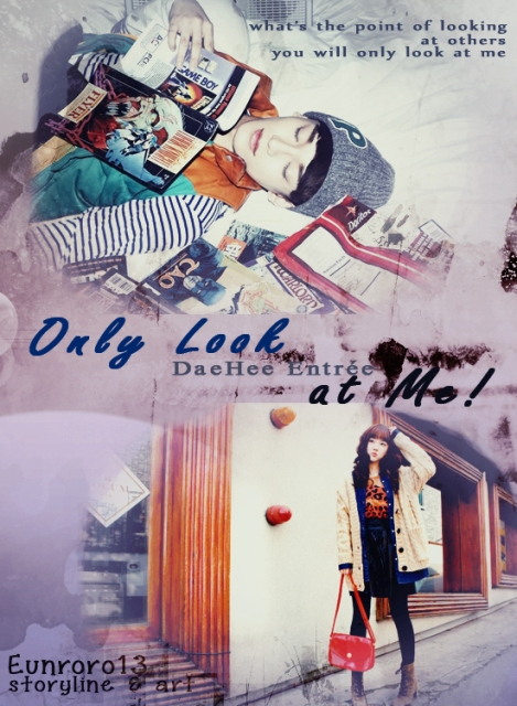 DAEHEE ENTREE - ONLY LOOK AT ME COVER