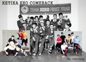 ketika exo comeback