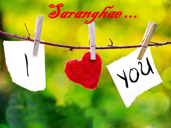 saranghae I love u