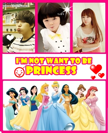 im not want to be princess