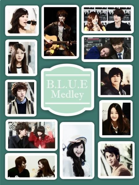 blue medley