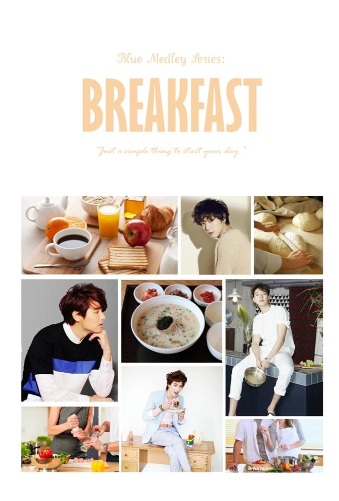 blue medley series - breakfast